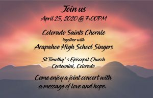 Concert with AHS Singers
